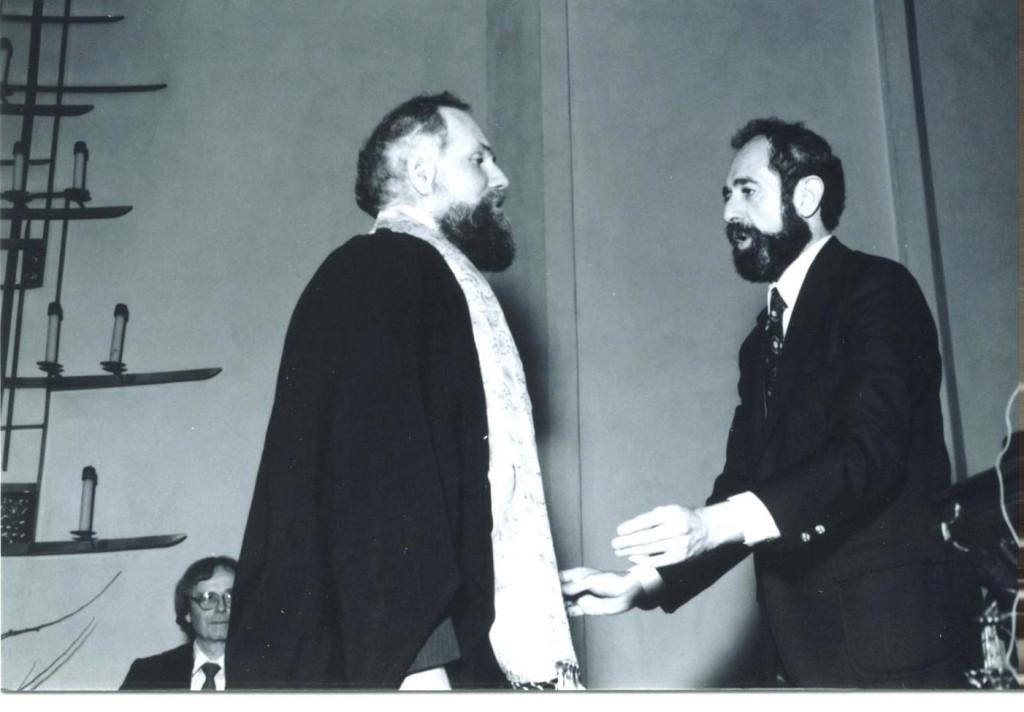 Dr. John Broomfield and Ron Rattner