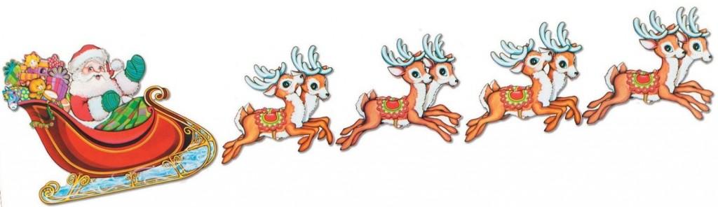 ... santa in his sleigh flying santas sleigh flying above saw santa flying