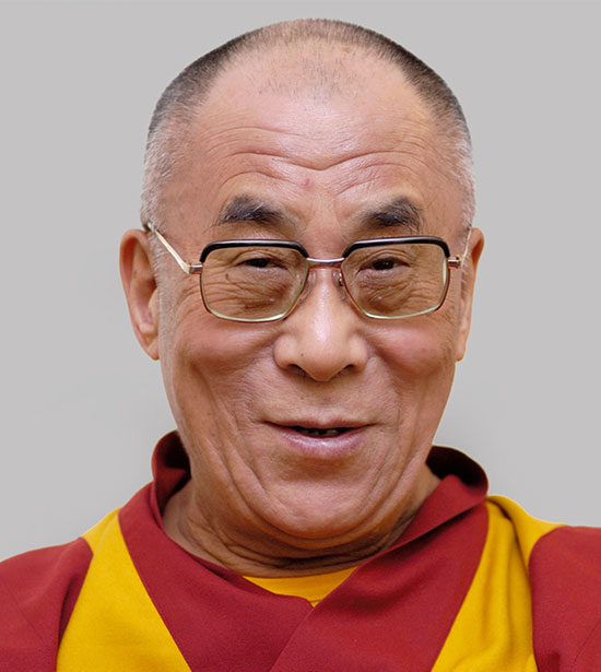 H. H. The 14th Dalai Lama, Tenzin Gyatso.